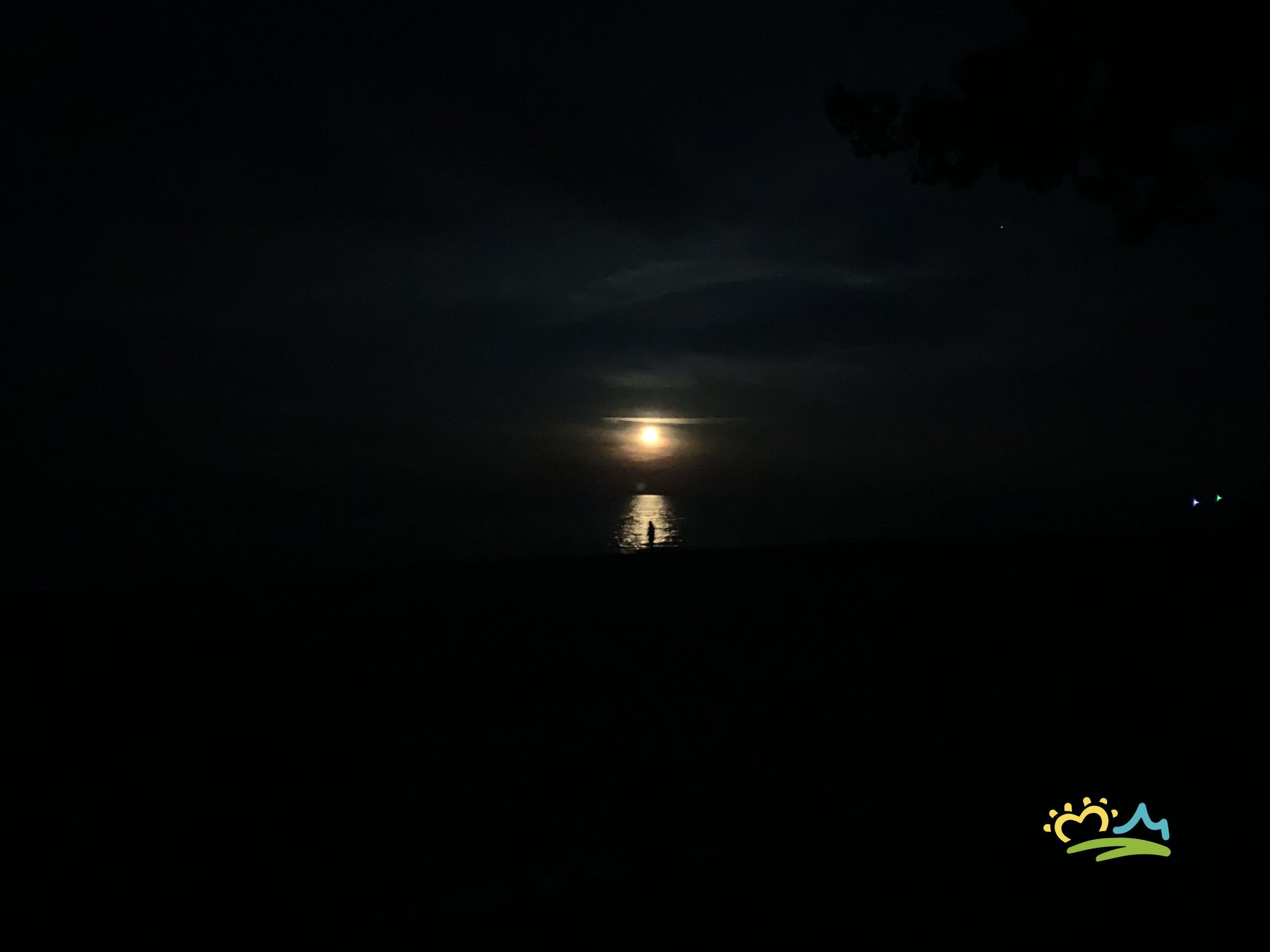 Moonrises along Lake Huron