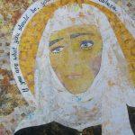 """Saint Catherine of Siena collage"" 2013"